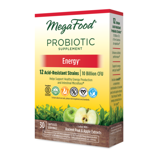 MegaFood Megafood SS Probiotic, Energy, 30cp