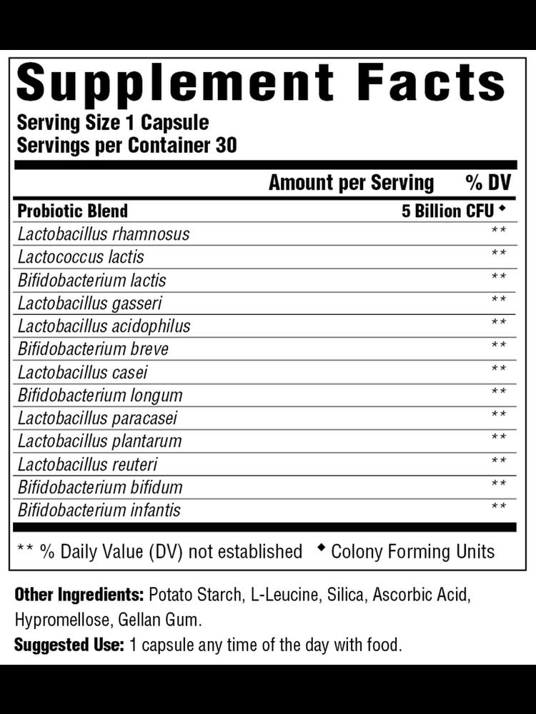 MegaFood Megafood SS Probiotic Digestive Health, 30cp