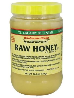 Y. S. Bee Organics Y.S. Bee Organics Raw Honey, 22oz.