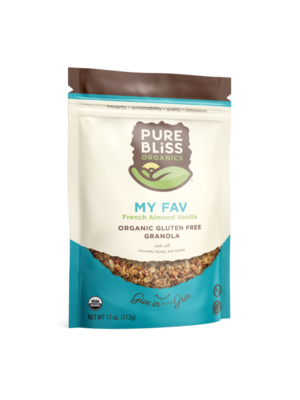 Pure Bliss Pure Bliss Organics My FAV Organic Granola, 12oz.