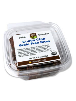 Pure Bliss Pure Bliss Organics Cocoa Chia Paleo Bites, 5.3oz.