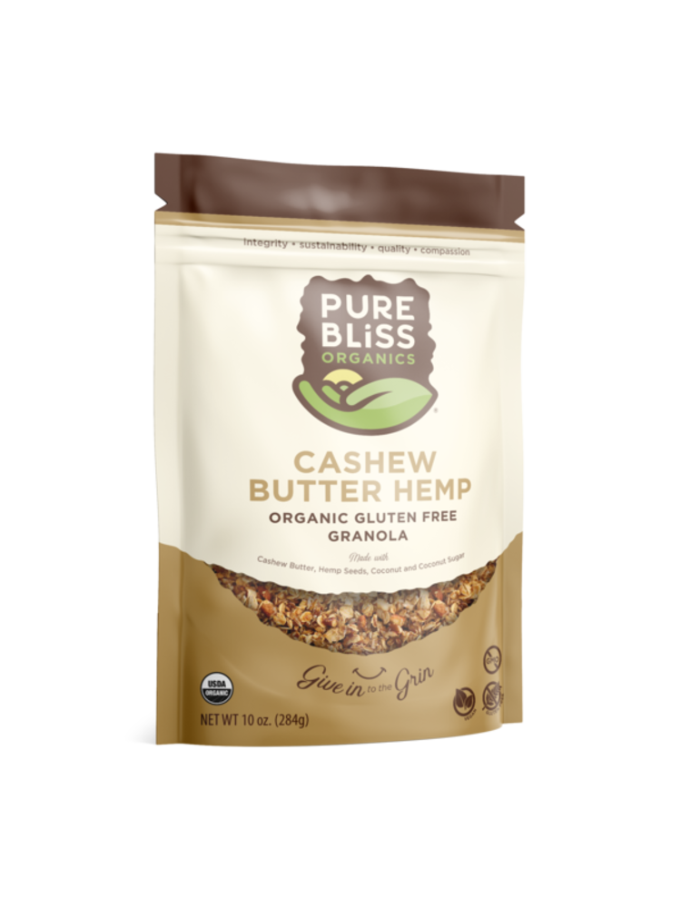 Pure Bliss Pure Bliss Organics Cashew Butter Hemp Granola, 11oz.