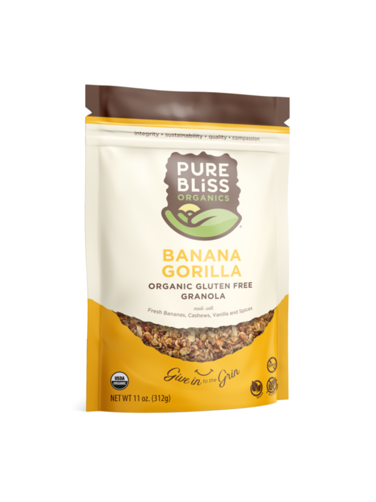 Pure Bliss Pure Bliss Organics Banana Gorilla Granola, 11oz.
