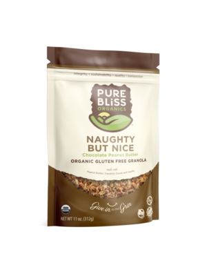 Pure Bliss Pure Bliss Organic Naughty But Nice Granola, 12oz.