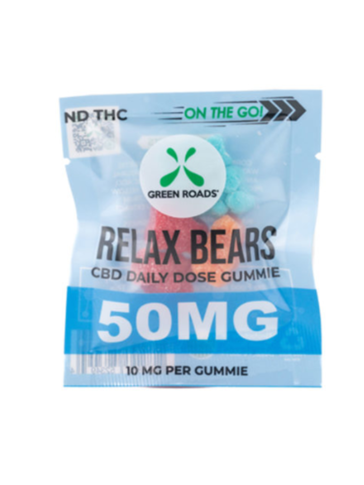 GREEN ROADS Green Roads Relax Bear 50mg, Single