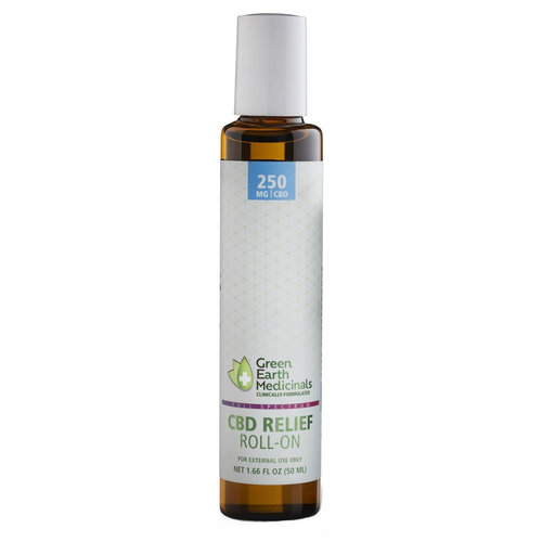 GREEN EARTH MEDICINALS Green Earth Medicinals CBD Relief Roll-On, 50ml - disco by vendor