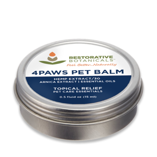 RESTORATIVE BOTANICALS Restorative Botanicals 4Paws Pet Balm 0.5oz