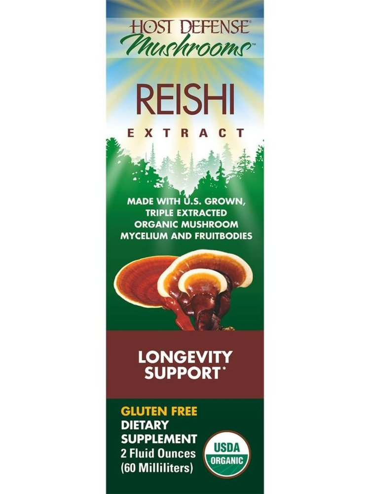 HOST DEFENSE Host Defense Reishi Extract, 2oz.