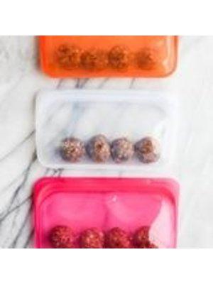 Stasher Stasher Snack Bag, Red