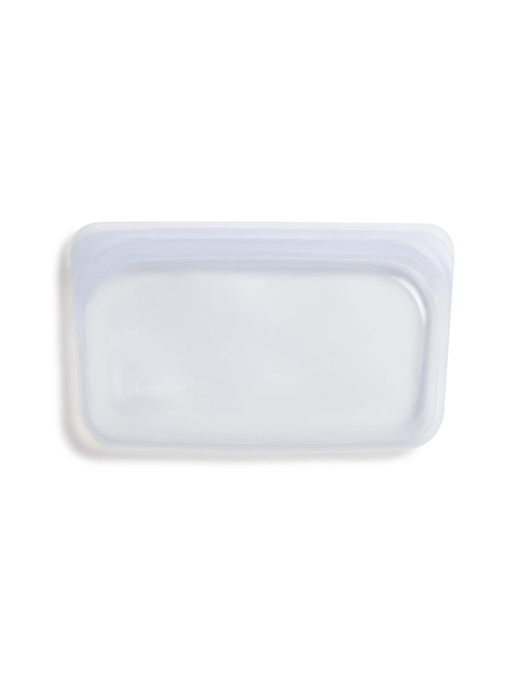 Stasher Stasher Snack Bag - Small, Clear