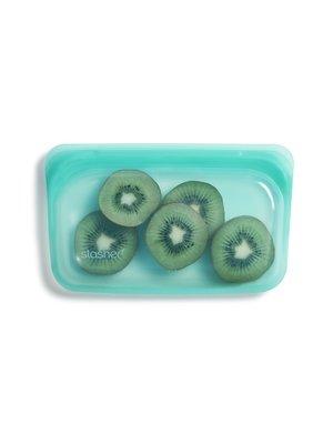Stasher Stasher Snack Bag, Green