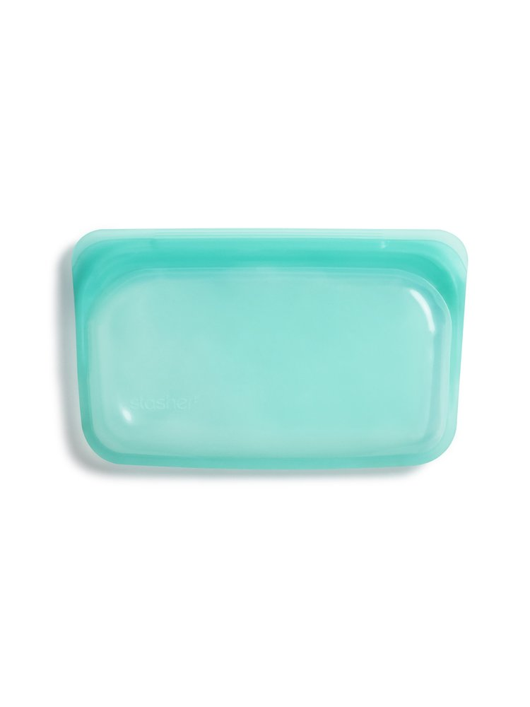 Stasher Stasher Snack Bag - Small, Aqua