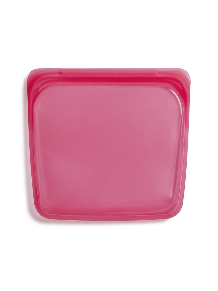 Stasher Stasher Sandwich Bag, Red