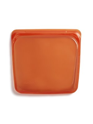 Stasher Stasher Sandwich Bag, Orange