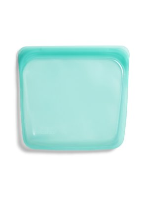 Stasher Stasher Sandwich Bag -Medium, Aqua