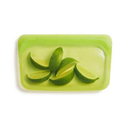Stasher Stasher Snack Bag - Small, Lime