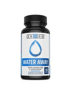Zhou Nutrition Zhou Water Away, 60cp