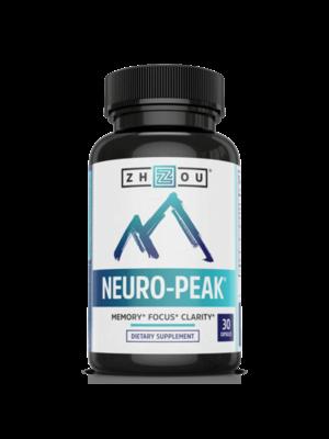 Zhou Nutrition Zhou Neuro-Peak, 30ct - DISCO