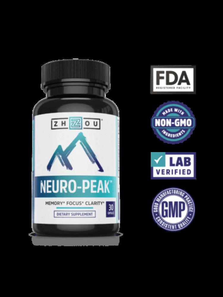 Zhou Nutrition Zhou Neuro-Peak, 30ct