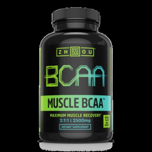 Zhou Nutrition Zhou Muscle BCAA, 120vc