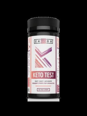 Zhou Nutrition Zhou Keto Test, 125ct