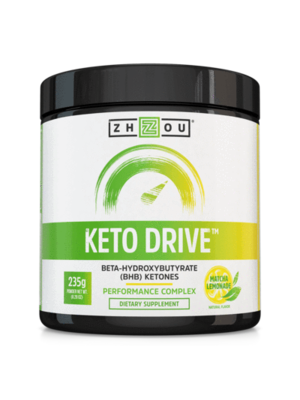 Zhou Nutrition Zhou Keto Drive Ketones, Matcha Lemonade, 8.29oz.