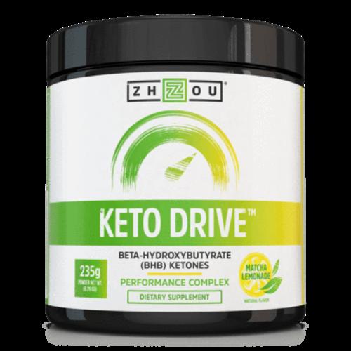 Zhou Nutrition Zhou Keto Drive Ketones, Matcha Lemonade, 8.29oz. - DISCO