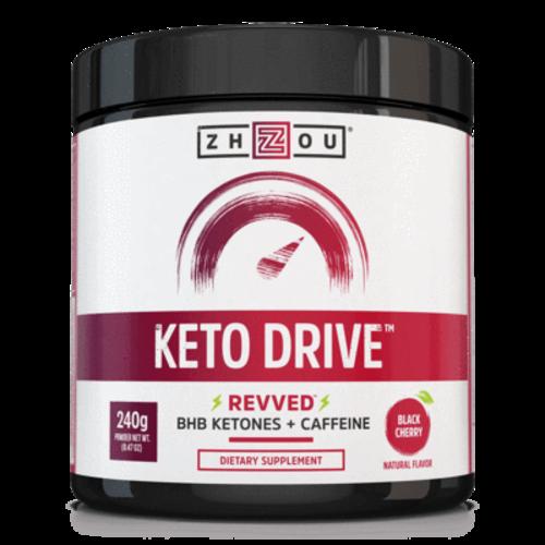 Zhou Nutrition Zhou Keto Drive Ketones, Black Cherry, 8.47oz. - DISCO
