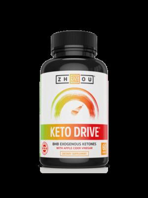 Zhou Nutrition Zhou Keto Drive 1000mg, 60cp