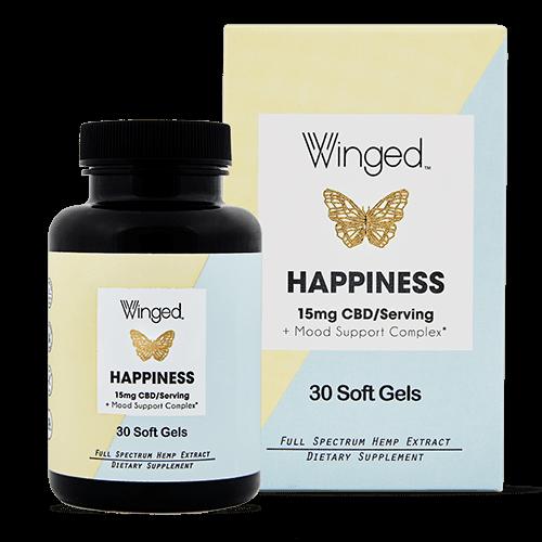 WINGED Winged CBD Happiness 15mg, 30sg