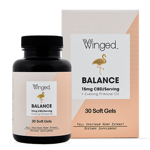 WINGED Winged CBD Balance 15mg, 30sg