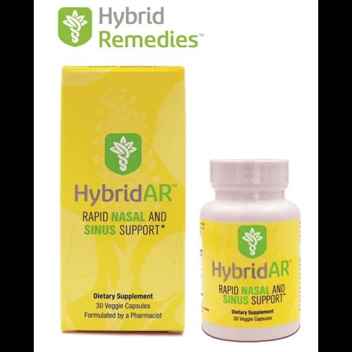 Hybrid Remedies Hybrid Defense HybridAR Rapid Nasal/Sinus Support, 30cp