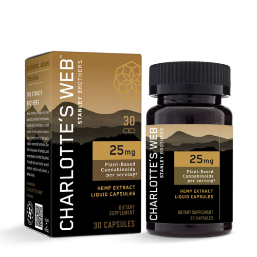 CHARLOTTE'S WEB Charlotte's Web 25mg Liquid Capsules, 30vc