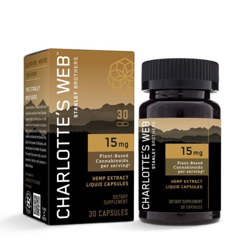CHARLOTTE'S WEB Charlotte's Web 15mg Liquid Capsules, 60vc SOO