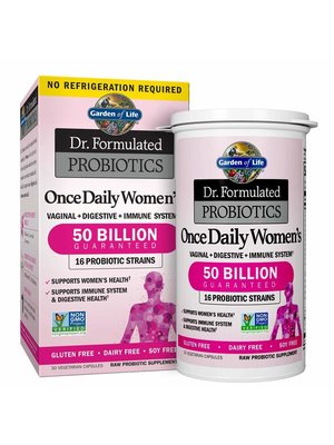 Garden of Life GoL Dr. Formulated Probiotics Once Daily Women's, 30cp