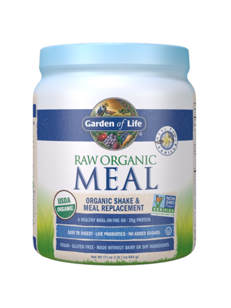 Garden of Life GoL RAW Organic Meal Vanilla (Mini)
