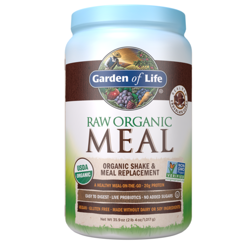 Garden of Life GoL RAW Organic Meal Chocolate, 35.9oz