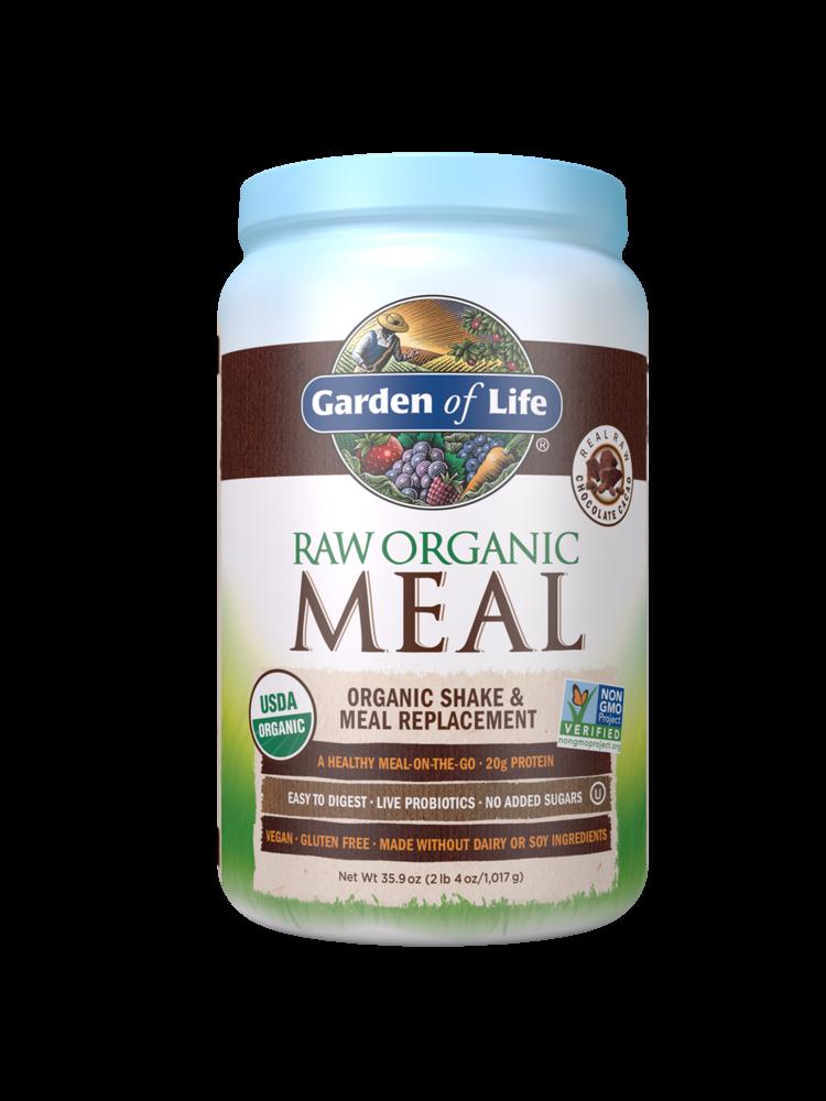 Garden of Life GoL RAW Organic Meal Chocolate, 35.9oz