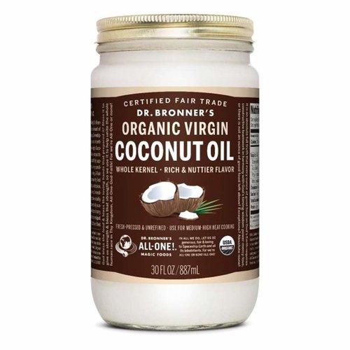 Dr. Bronner's Dr. Bronner's Coconut Oil Whole Kernel, 30oz.