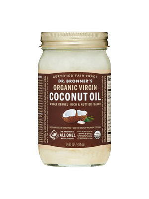 Dr. Bronner's Dr. Bronner's Coconut Oil Whole Kernel, Organic, 14oz.