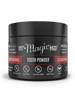 My Magic Mud My Magic Mud Whitening Tooth Powder, Cinnamon, 1.06oz.