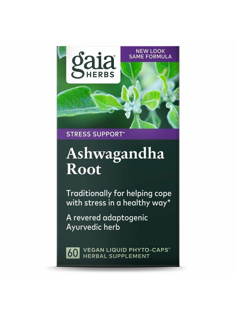 GAIA HERBS Gaia Ashwagandha, 60cp