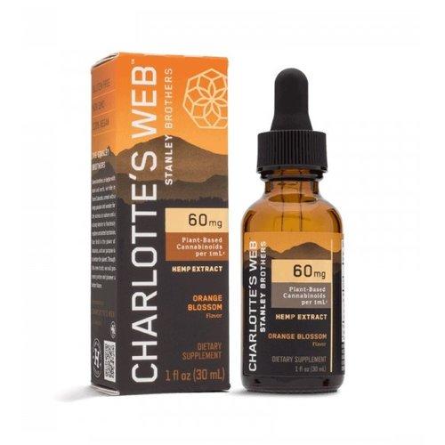 CHARLOTTE'S WEB Charlotte's Web 60mg Oil, Orange Blossom, 30ml