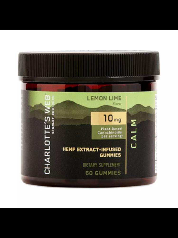 CHARLOTTE'S WEB Charlotte's Web Calm Gummies, Lemon Lime, 60ct