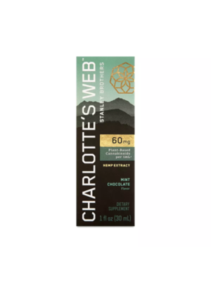 CHARLOTTE'S WEB Charlotte's Web 60mg Oil, Mint Chocolate, 30ml