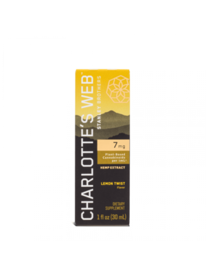 CHARLOTTE'S WEB Charlotte's Web 7mg Oil, Lemon Twist, 1oz.