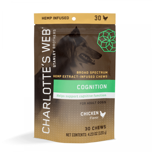 CHARLOTTE'S WEB Charlotte's Web Canine Cognition Chews, Chicken, 30ct