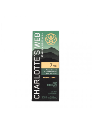 CHARLOTTE'S WEB Charlotte's Web 7mg Oil, Mint Cho, 100ml