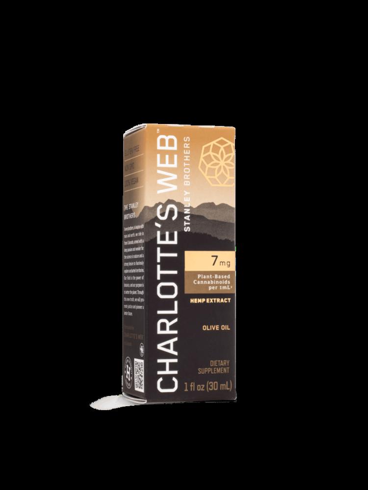 CHARLOTTE'S WEB Charlotte's Web 7 mg Oil, Olive Oil, 1oz.