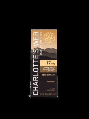 CHARLOTTE'S WEB Charlotte's Web 17mg Oil, Olive Oil, 100ml